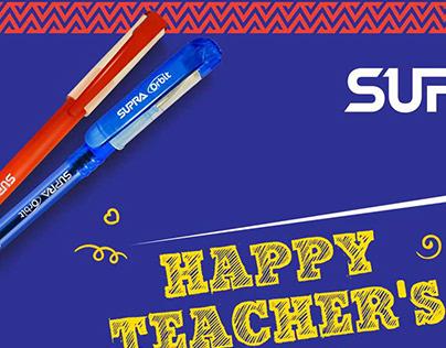 Supra Pens - Teacher's Day Activation
