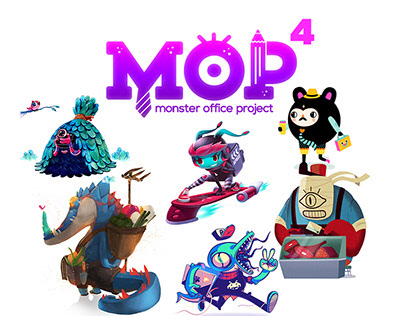 MONSTER OFFICE PROJECT 4