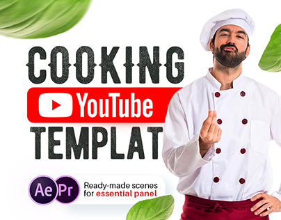 Cooking YouTube | After Effects and Premiere Pro