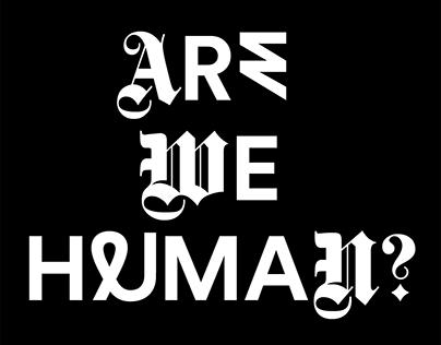 Are We Human? 3rd İstanbul Design Biennial