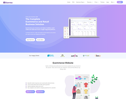 Storrea Website