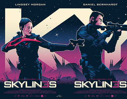 OFFICIAL SKYLIN3S (SKYLINES) Character Posters