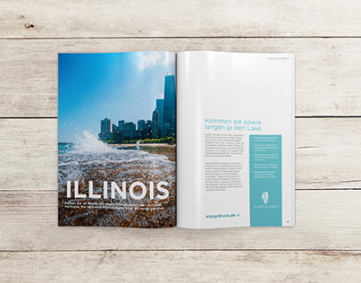 Visit Illinois : Magazine Layout