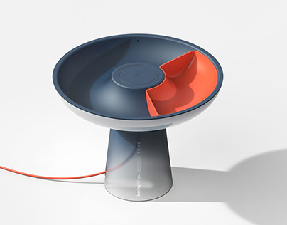 svamp | a bedside lamp