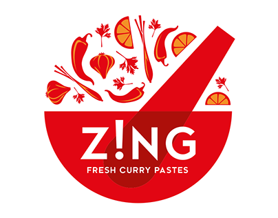 Zing Curry Pastes – Branding & Packaging