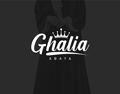 Ghalia Abaya Logo