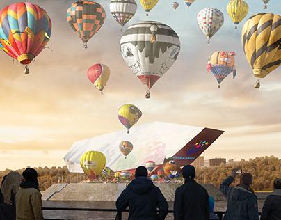 Festival Air Balloon