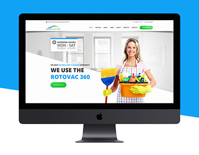 Spotless Cleaning Website