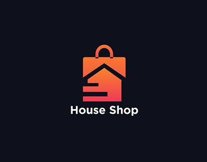House Shop, Ecommerce Logo Design, Brand Identity