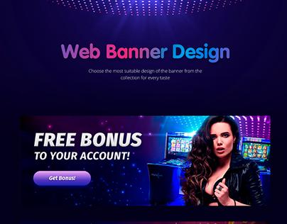 Web Banners Casino