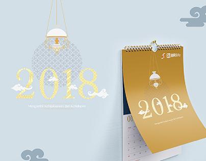 BRI Life - 2018 Wall Calendar