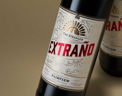 Extrano Wine Label