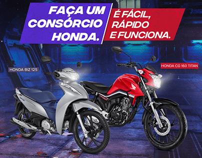 Campanha - Consórcio Honda Moto Ideal