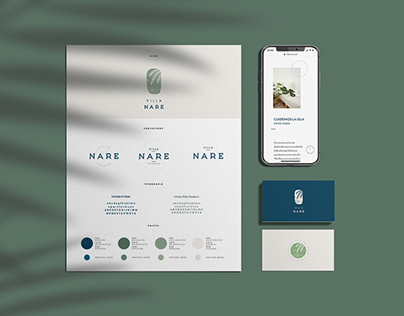 Villa Nare Web & Identity
