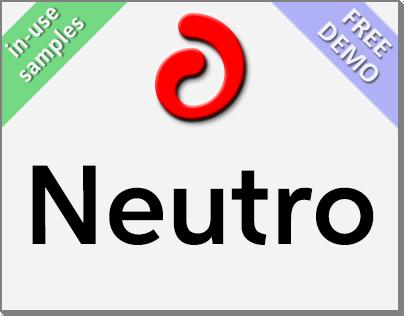 Neutro (Font Family) + Free Demo