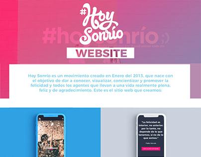 HoySonrío | Website