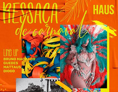 Ressaca de Carnaval - @HausPub