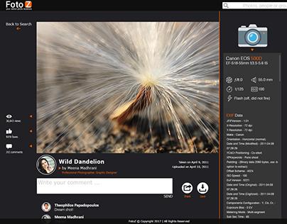 FotoZone , Online Image Database - Test1