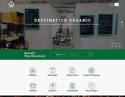 Destination Organic Directory Website