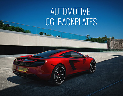 Car Backplates & HDRI