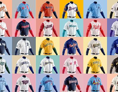 MLB Alternate Uniform Concept Collection