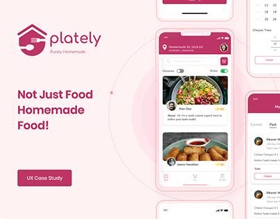 Plately - Homecooked Food Ordering App