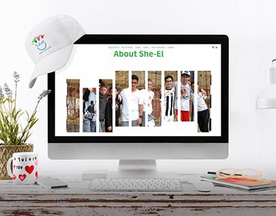 Developing & Product design for summer camp website