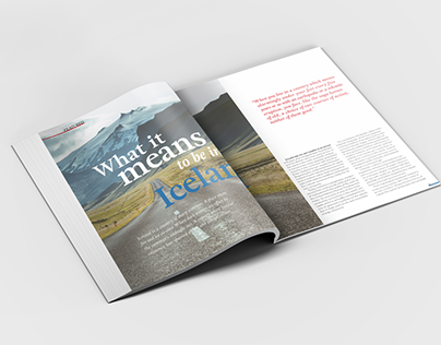 Featured Spread – Iceland