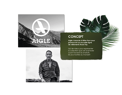 CO-BRANDING Aigle & Mike Horn