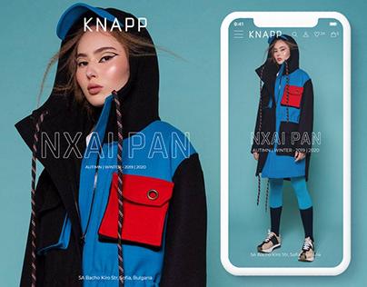 KNAPP - Website Redesign