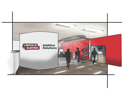 Lincoln Electric Additive Solutions showroom