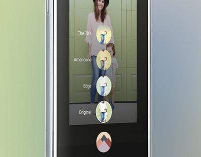 Samsung Galaxy S6 photo editing concept