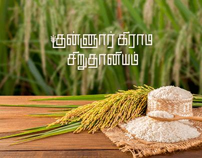 Kunnur Village Millet - Branding & Packaging