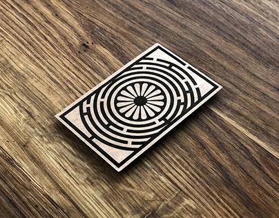 Business Cards | Archeologist | Labyrinth