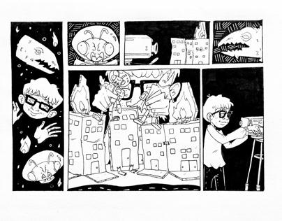 Some of my Inktober Comics