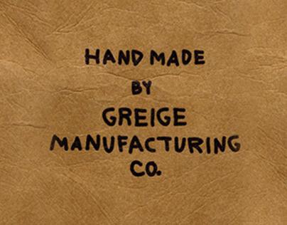Brand Development—Greige Menswear