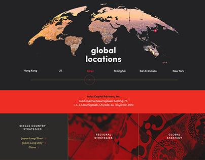 Indus Capital Partners Website