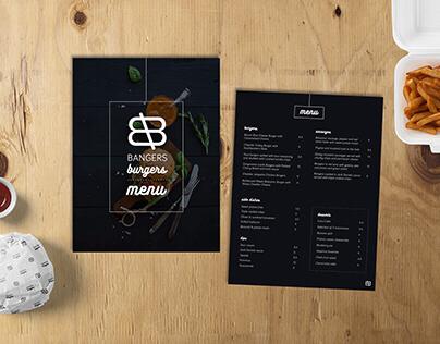 Bangers Burgers | Branding