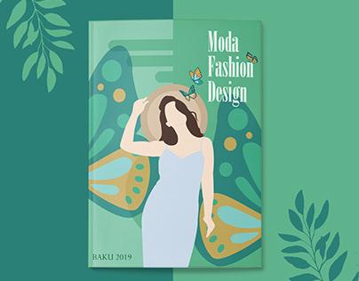 Fashion Catalog Cover Design
