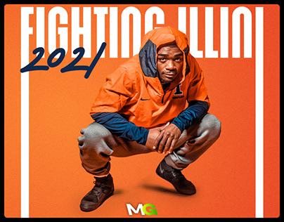 2021 Fighting Illini Athletics Branding