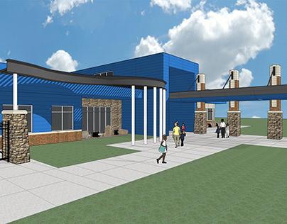Crutcho Elementary School Concept
