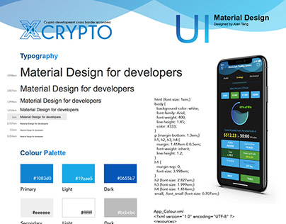 Material Design for Xcrypto Project