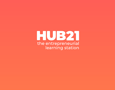 Hub21 Social Media and Badge Design