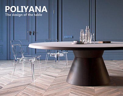 """""""POLIANA"""" The design of the table"""