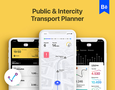 Jakdojade - Public & Intercity Transport app