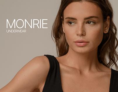 Monrie Store Website