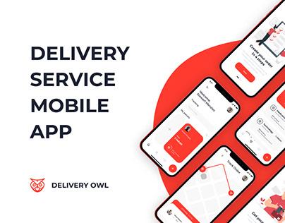 Delivery Owl App | UI/UX Design