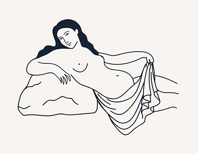 Venus Illustration for Midnight Woman