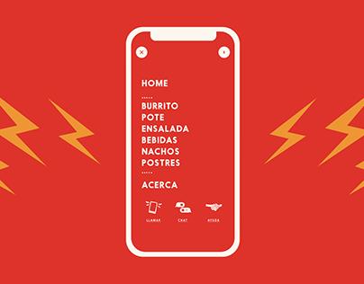 Sipote Burrito / Food Delivery Web App
