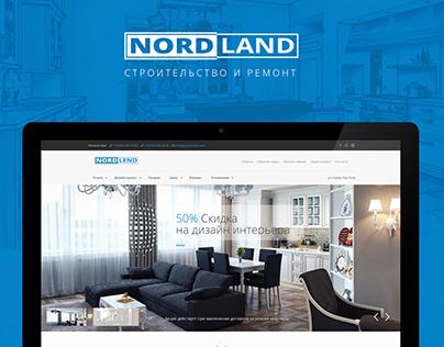 Nord land website design & development